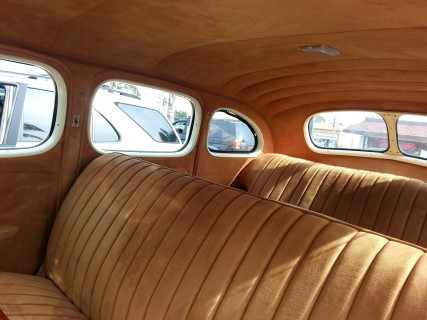 1938 Packard 4 Door Interior